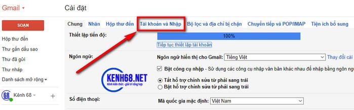 cách đổi mật khẩu gmail trên máy tính 03