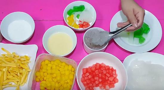 Cách làm sữa chua mít 002