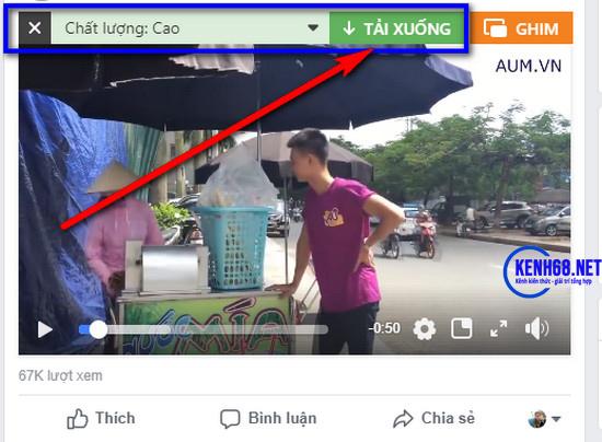 cách tải video trên facebook về máy tính 07