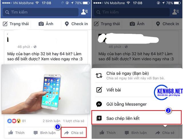 cách tải video trên facebook về điện thoại iphone ipad 01