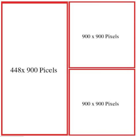 kích thước ảnh quảng cáo facebook khi vào khung hình album 02