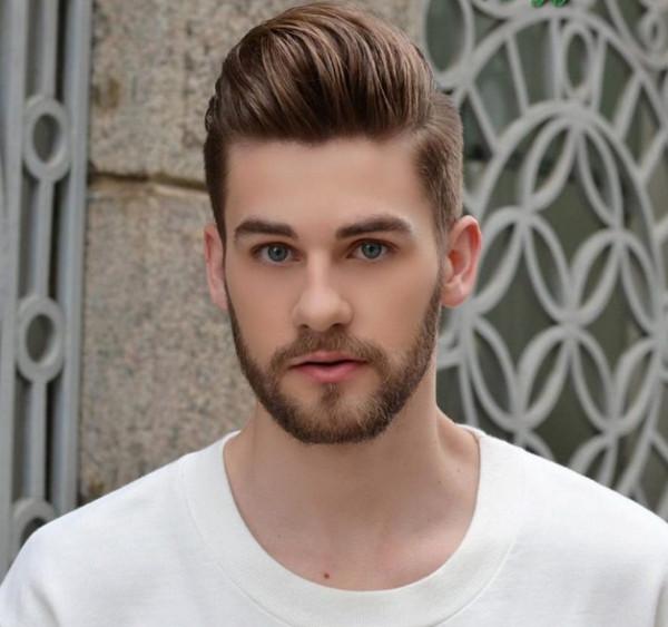 tóc nam đẹp 2018 - kiểu tóc Pomp Quiff
