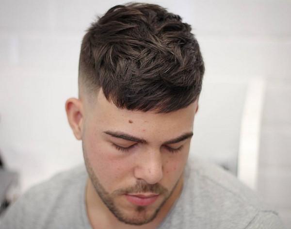 tóc nam đẹp 2018 - kiểu tóc Textured Crop
