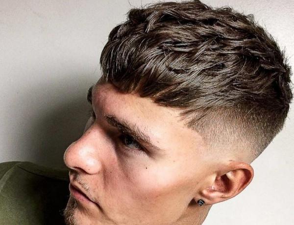 tóc nam đẹp 2018 - kiểu tóc Textured Crop 01