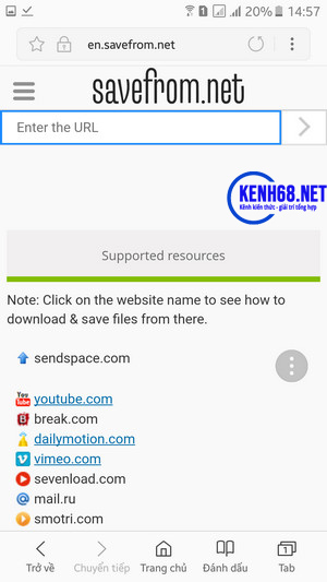 cách tải video trên youtube về điện thoại bằng công cụ online 03