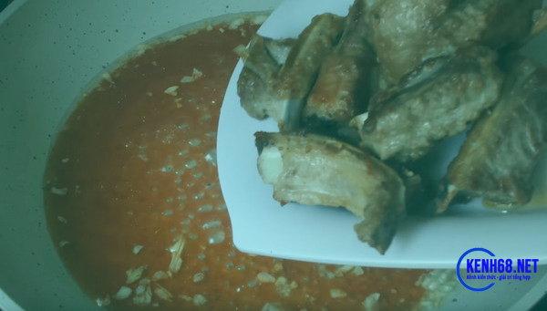 Cách làm sườn xào chua ngọt ngon 09