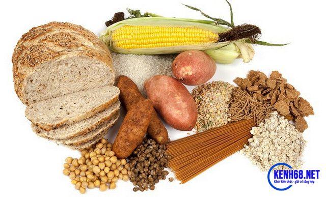 chế độ ăn cho người tập gym - bổ sung tinh bột