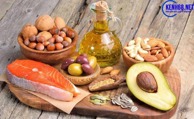 chế độ ăn cho người tập gym - đảm bảo lượng chất béo cần thiết