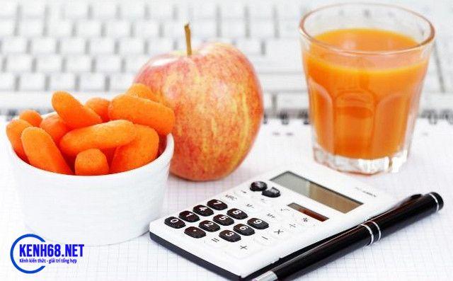 chế độ ăn cho người tập gym - tính toán hàm lượng calo mỗi ngày