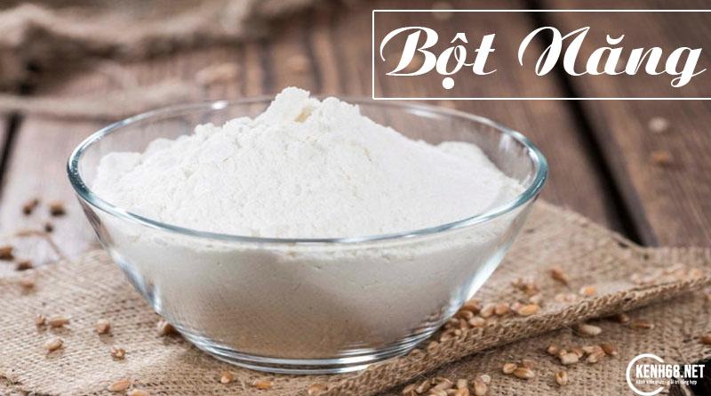 bột năng là bột gì? Công dụng của bột năng