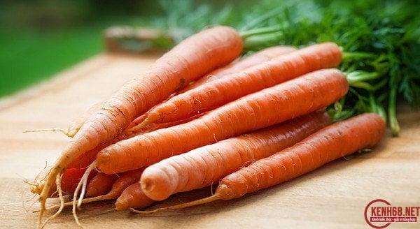 Cách làm trắng da mặt cấp tốc với cà rốt