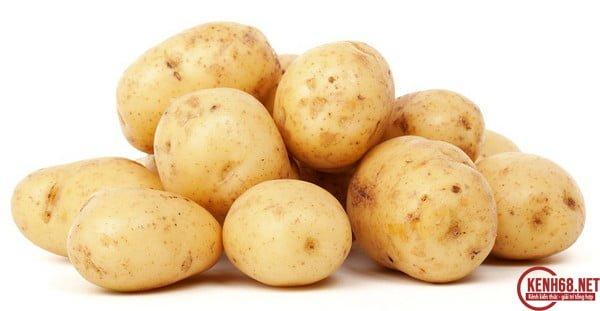 Cách làm trắng da mặt với mặt nạ khoai tây