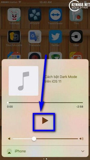 Cách nghe nhạc trên Youtube khi tắt màn hình cho iphone 02