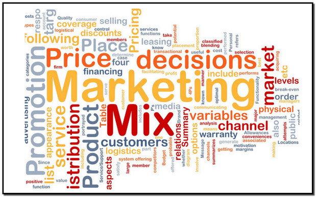 khái niệm marketing mix là gì