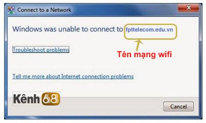 lỗi không kết nối được wifi sau khi đổi mật khẩu wifi