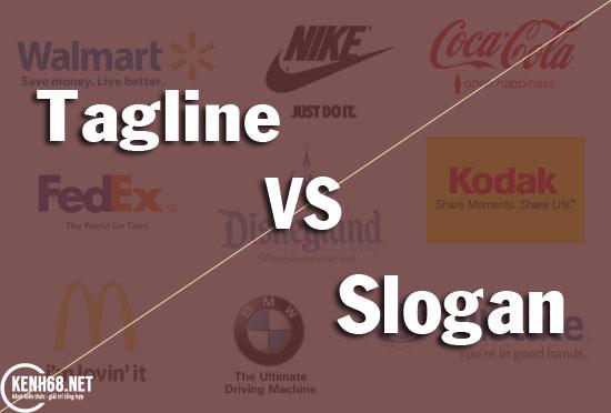 tagline là gì? Sự khác nhau giữa tagline và slogan