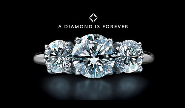 slogan hay về kinh doanh - A Diamond is forever