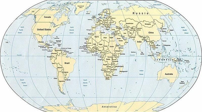 thế giới có bao nhiêu nước