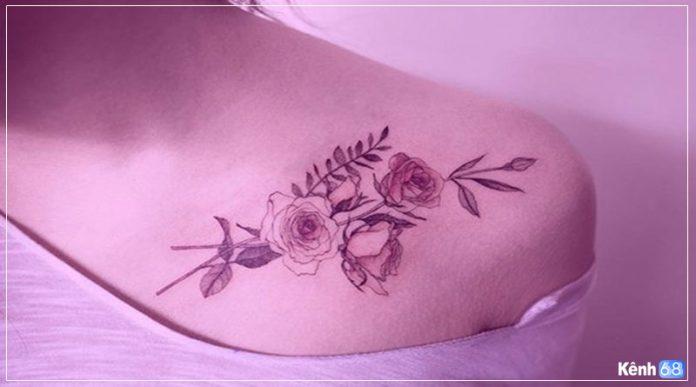 hình xăm hoa hồng đẹp, tattoo hoa hồng đẹp nhất