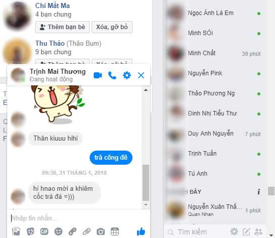 cách sử dụng inbox trong facebook, zalo 001