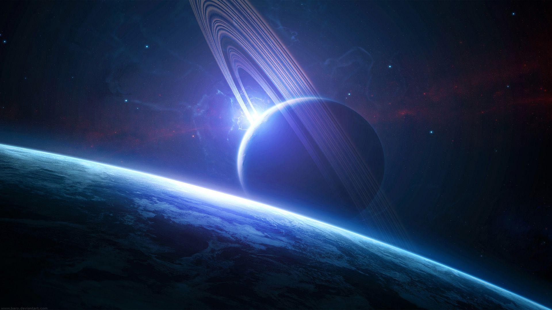 Hình nền vũ trụ đẹp huyền ảo 02