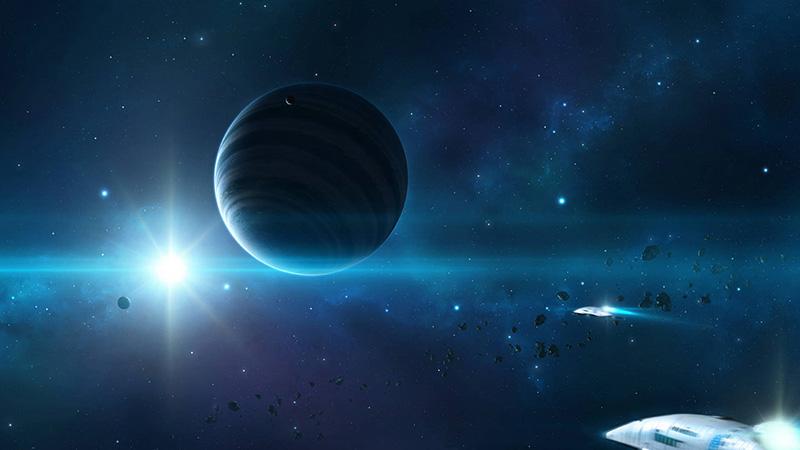 Hình nền vũ trụ đẹp huyền ảo 03