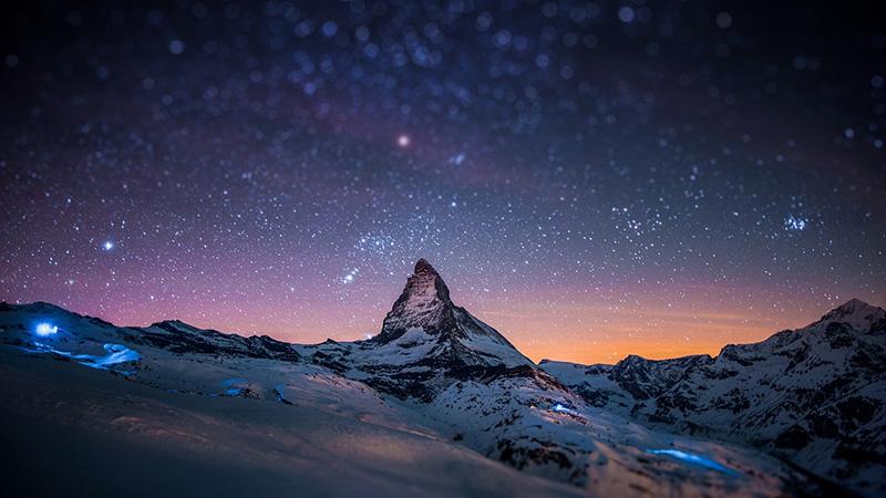 Hình nền vũ trụ đẹp huyền ảo 06