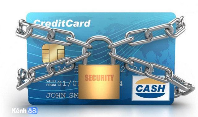 Cần chú ý bảo mật thông tin thẻ tín dụng