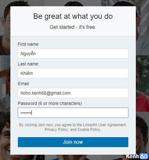Hướng dẫn cách đăng ký linkedin - Tạo tài khoản linkedin