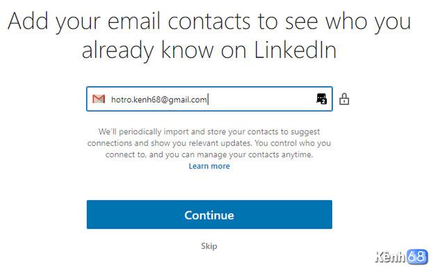 Hướng dẫn cách đăng ký linkedin - Tạo tài khoản linkedin 05