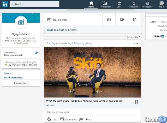 Hướng dẫn cách đăng ký linkedin - Tạo tài khoản linkedin 06