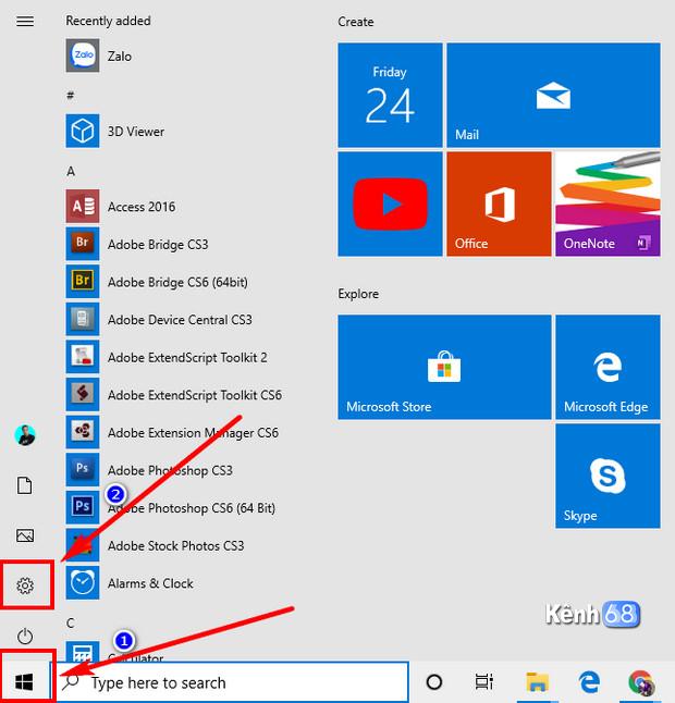 cách bật bộ gõ tiếng việt mặc định trên windows 10 may 2019 update 01