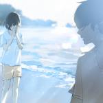 ảnh anime boy buồn chia tay