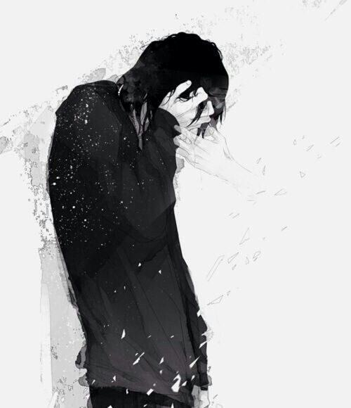 hình ảnh anime boy buồn nhất 34