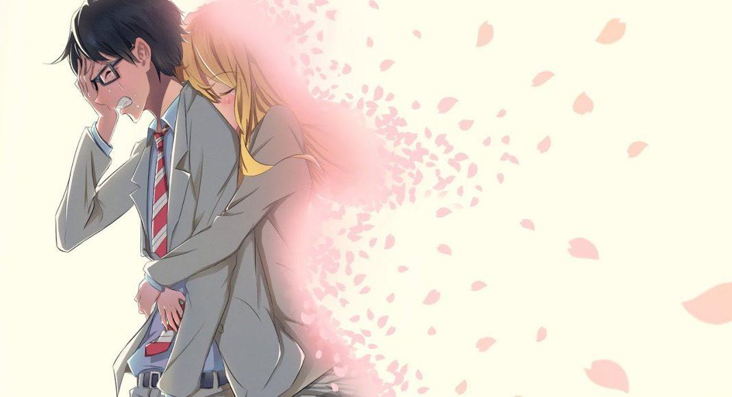 ảnh anime boy buồn chia xa trong tình yêu
