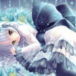 hình ảnh anime girl buồn, khóc 17