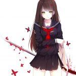 hình ảnh anime girl buồn, khóc 18