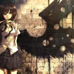 hình ảnh anime girl buồn, khóc 21