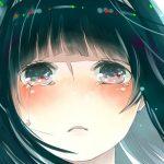 hình ảnh anime girl buồn, khóc 24