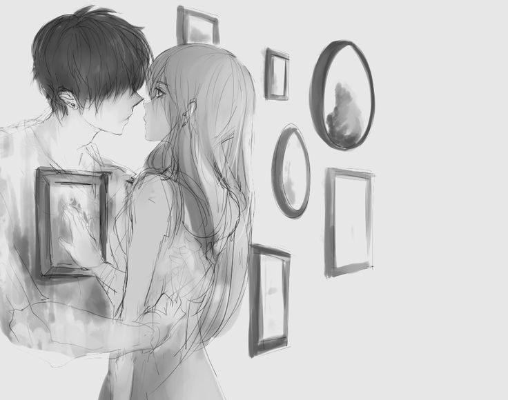 ảnh anime girl buồn tình yêu