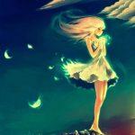hình ảnh anime girl buồn, khóc 30