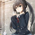 hình ảnh anime girl buồn, khóc 33
