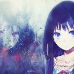 hình ảnh anime girl buồn, khóc 37