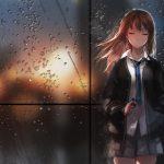 hình ảnh anime girl buồn, khóc 40