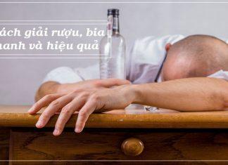 cách giải rượu nhanh và hiệu quả tại nhà