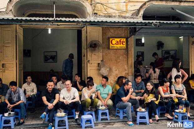 Bạc xỉu ngon tại Hà Nội - Cafe 39 Tạ Hiển