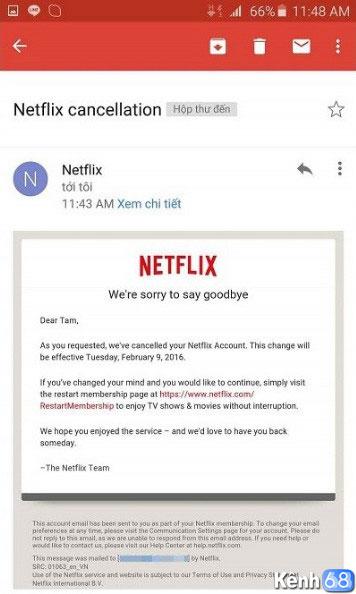 cách hủy dịch vụ netflix sau 30 ngày dùng thử miễn phí 004