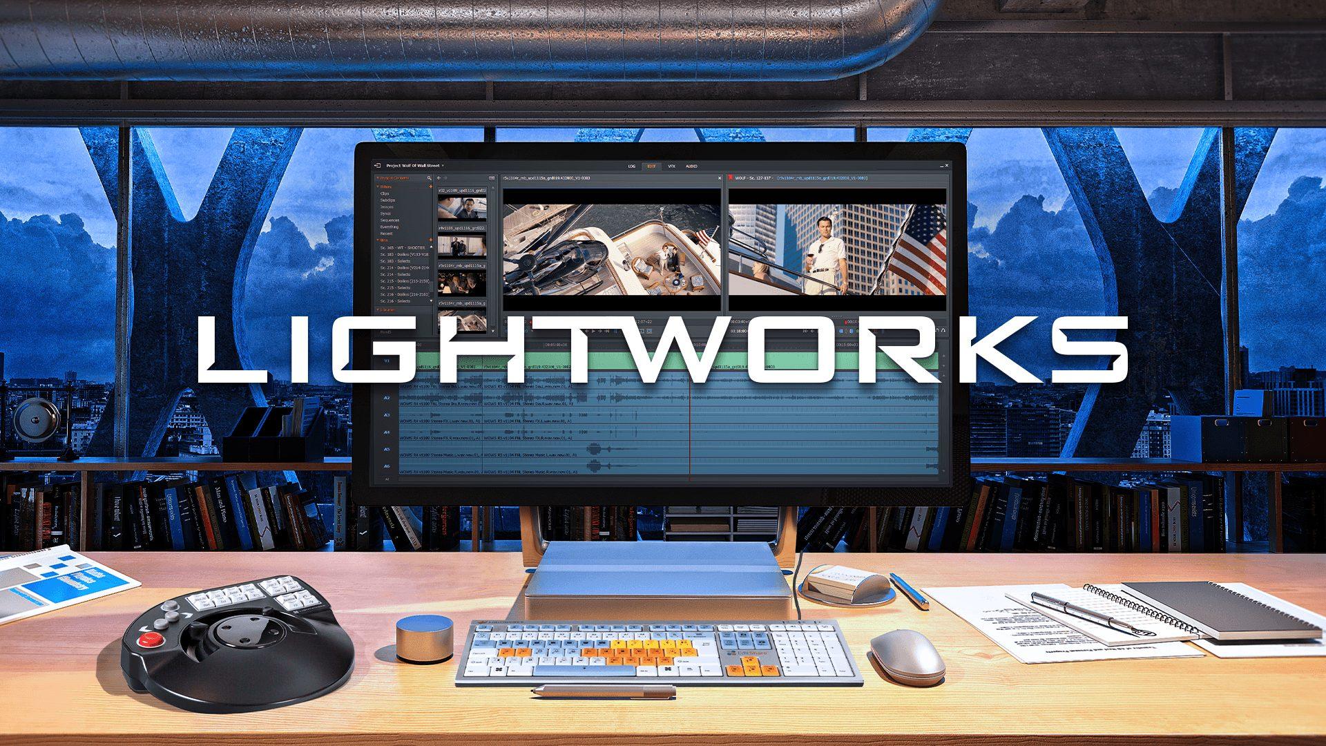 phần mềm chỉnh sửa video lightworks